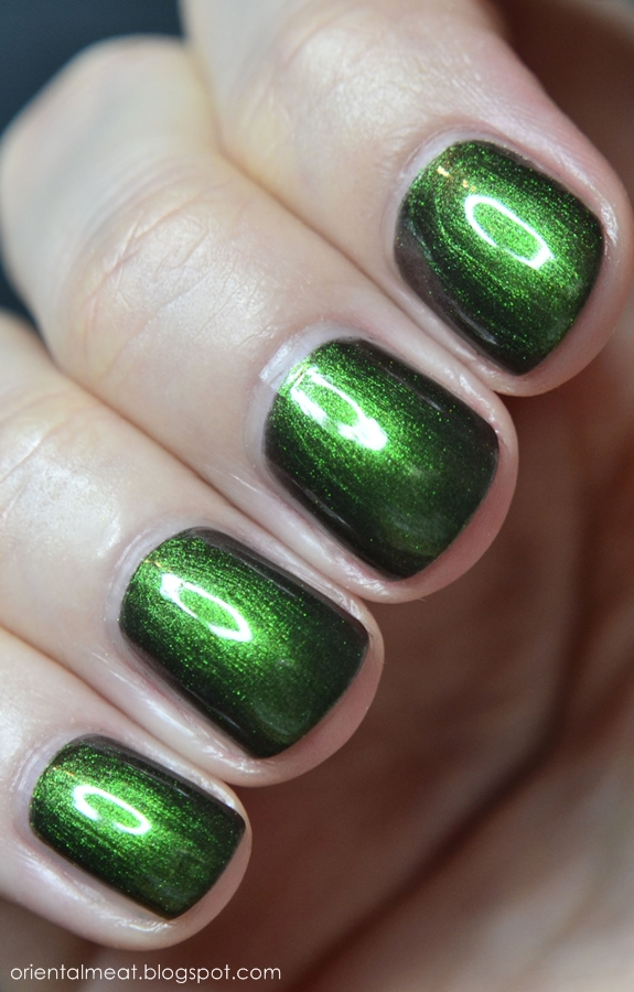 OPI-Green on the Runway