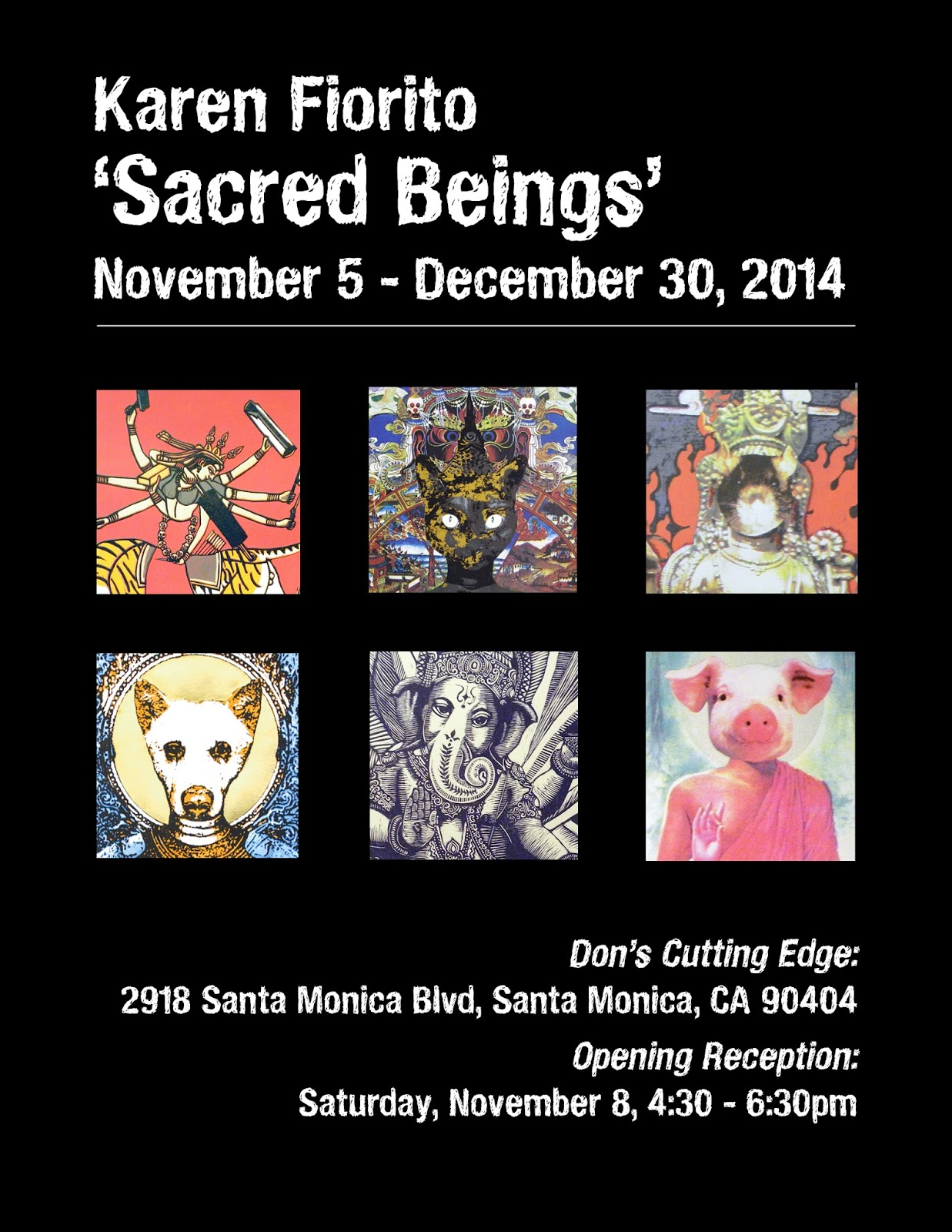 Sacred Being Show