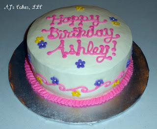 Aj S Cakes Pink Spring Cake