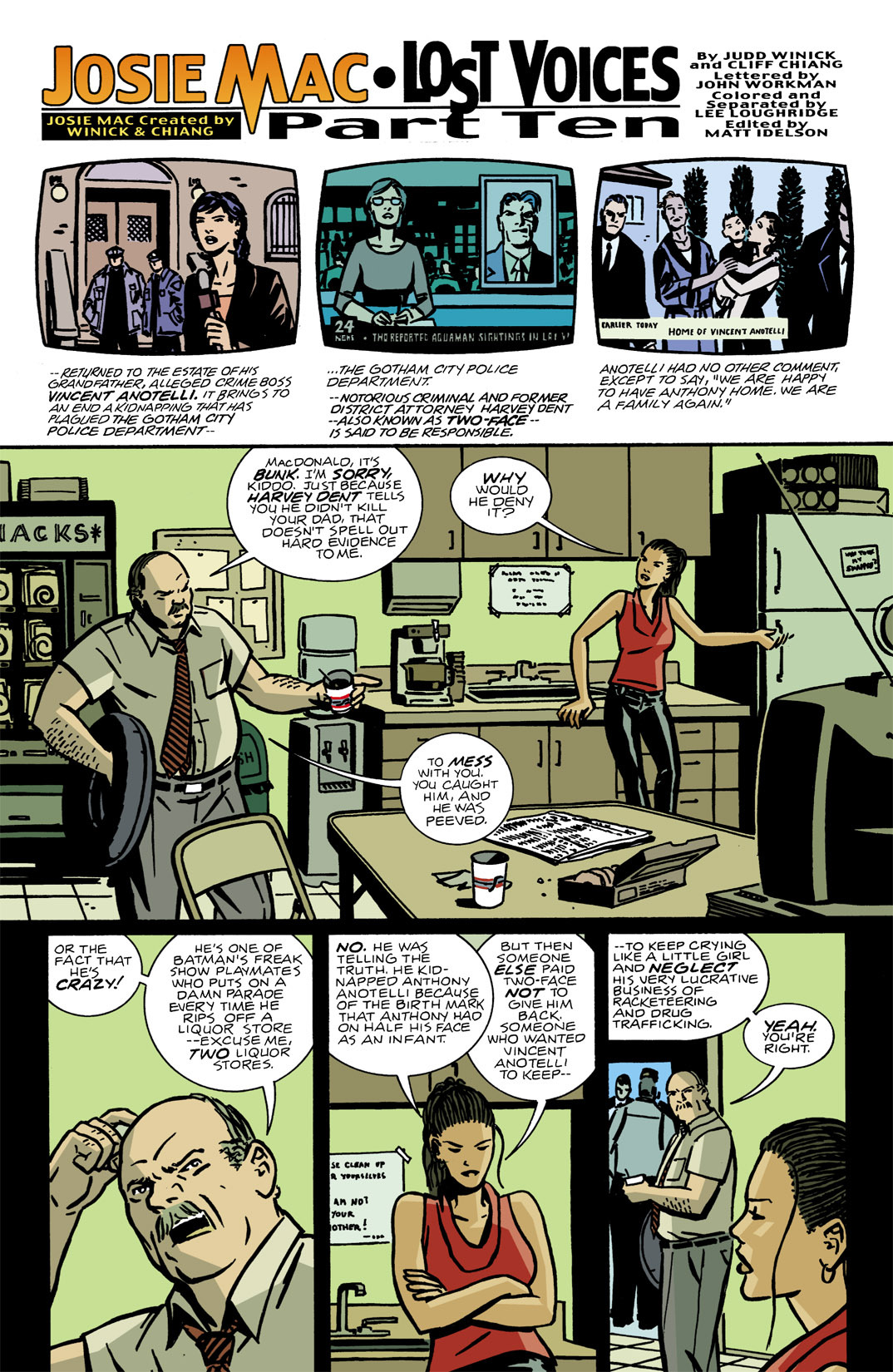 Detective Comics (1937) Issue #772 Page 22