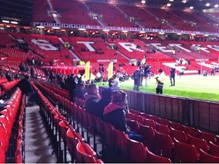 Stretford End Pre Match