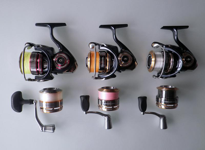 Smells kinda like fish daiwa certate spools for Fishing reel sizes