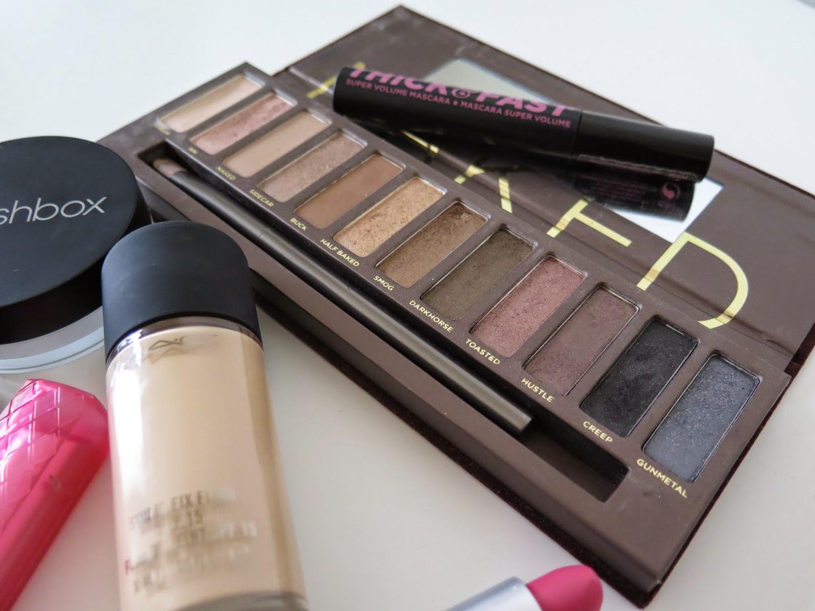 make-up, urban decay, MAC