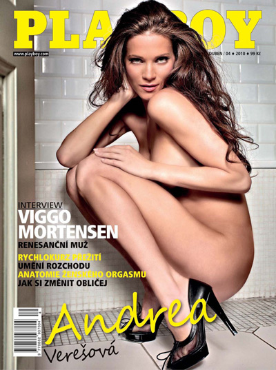 Playboy Magazine cZech April 2010