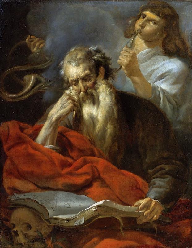 Nicolaes Pietersz Berchem - Sant Jerome