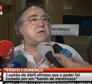 Capitão de Abril Vasco Lourenço Afirma que o Poder Foi Tomado por Bando de Mentirosos