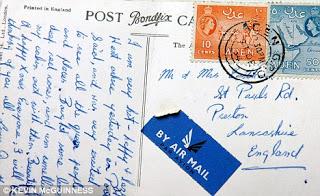 Setelah 57 Tahun, Kartu Pos Dari Mesir Baru Sampai Di Inggris