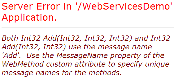 method overloading in web services