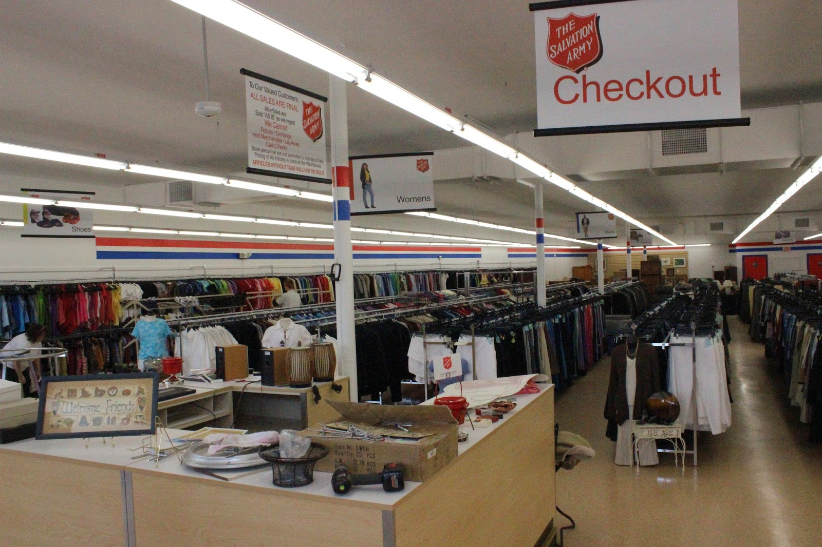Salvation army shop online