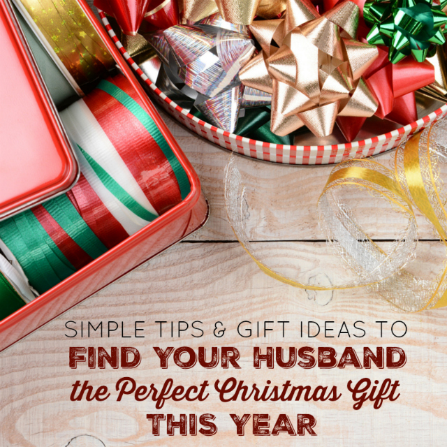 Finding Your Husband the Perfect Christmas Gift - Simple Tips and Gift Ideas One Savvy Mom onesavvymom blog nyc