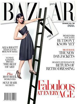Alia Bhatt Hot Magazine Cover Photoshoot Stills