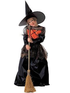Billigt Heksekostume til Halloween
