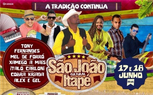 SÃO JOÃO ANTECIPADO DE ITAPÉ