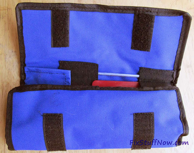 EZE-LAP DMD Fixed Angle Knife Sharpening System - Pouch Partially Open