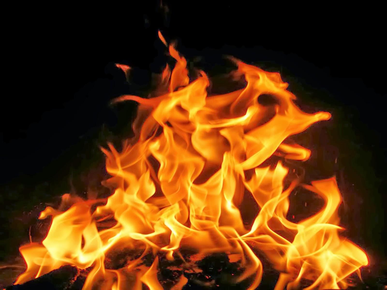 Real Flame Screensaver