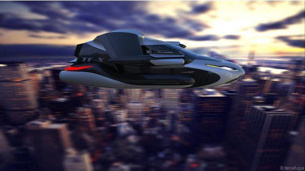 Terrafugia TF-X, mobil terbang masadepan