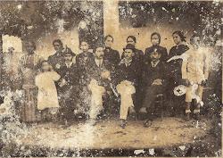 Coronel Zeca Sampaio e família -1899