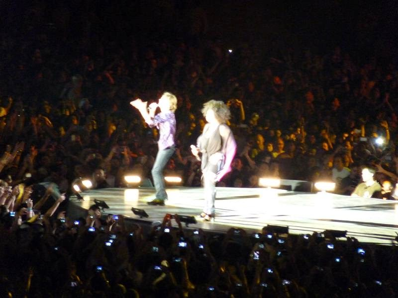 Concierto The Rolling Stones (Estadio Santiago Bernabeu, 25-6-14)