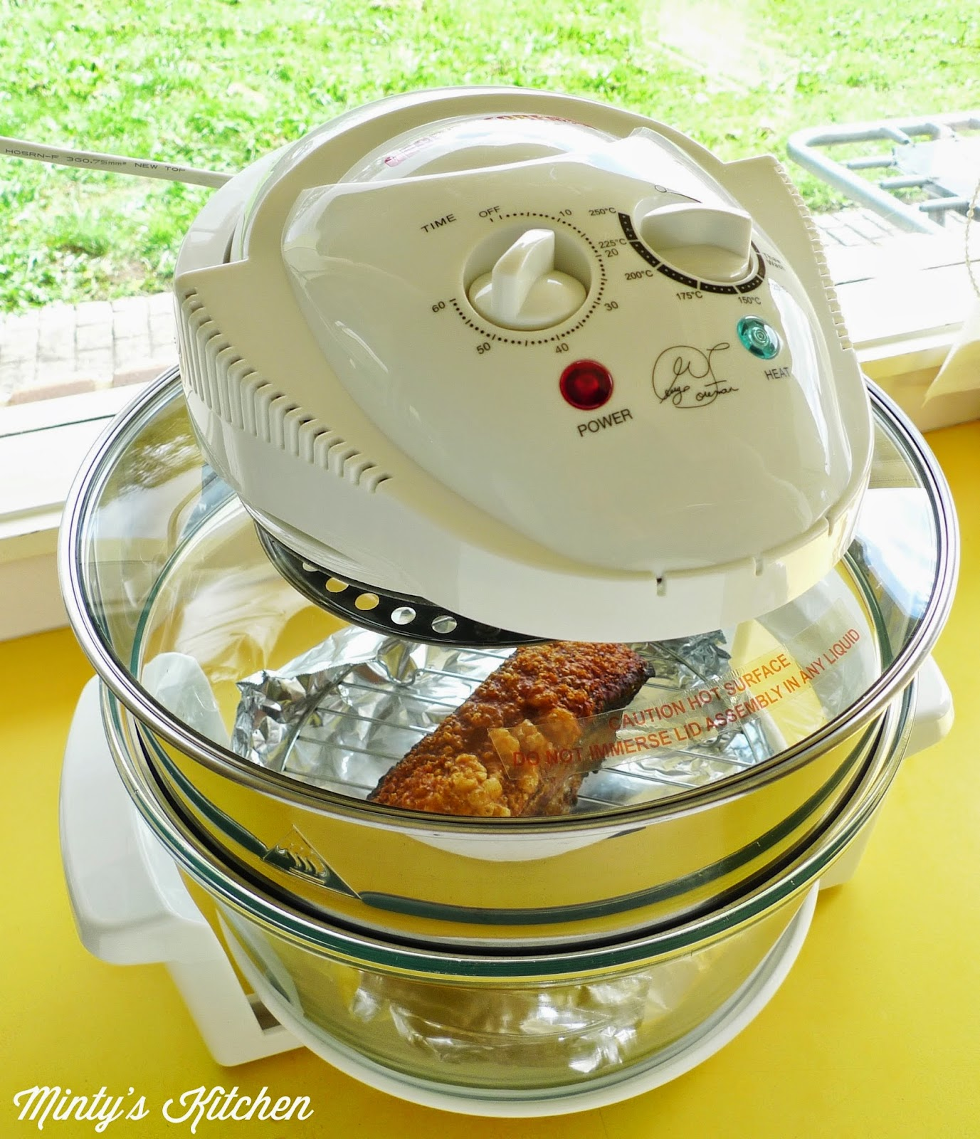 George Foreman Turbo Oven