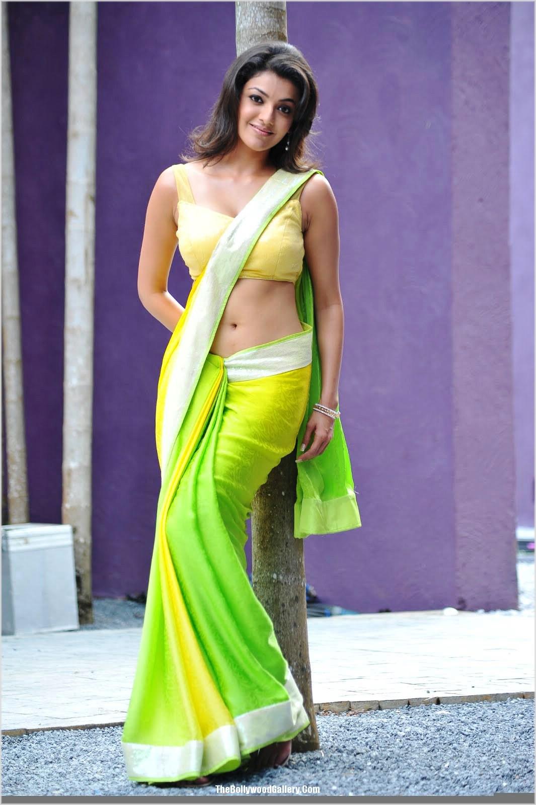 Karthika Nair Hot Navel In Saree Kajal Agarwal Ho...