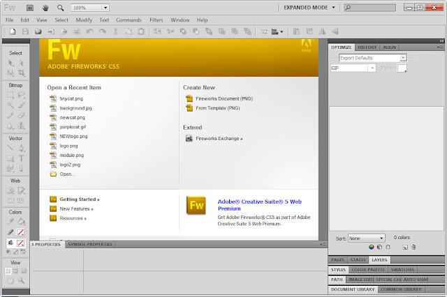 Adobe Fireworks CS4 Free Download