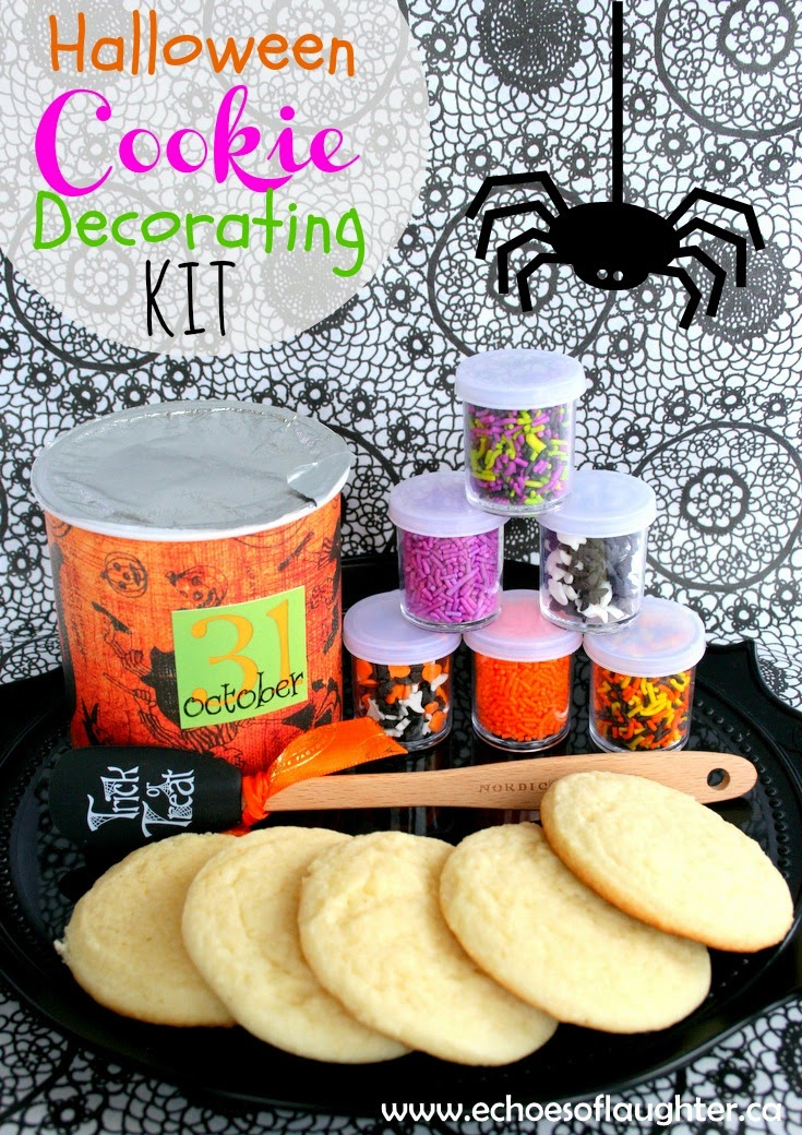 Halloween Cookie Decorating Kit