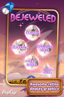 Bejeweld game for iPhone