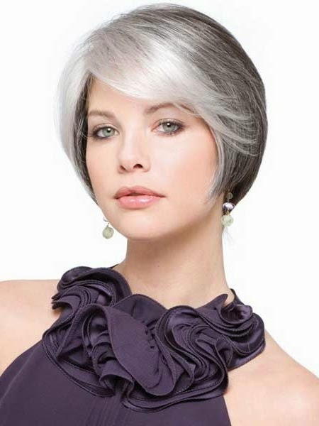 short haircuts for straight hair older women