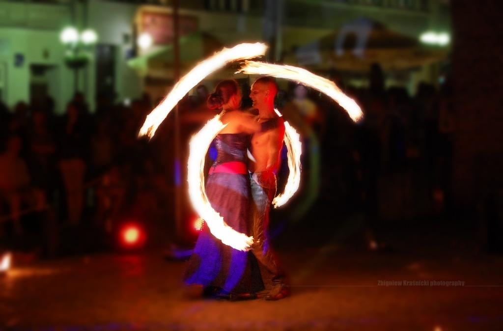 Olsztyn. Imieniny Jakuba, taniec z ogniem, rycerze i panorama miasta