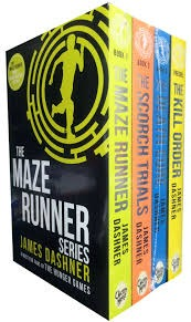 The Maze Runner, The Scorch Files, The Death Cure, The Kill Order by James Dashner