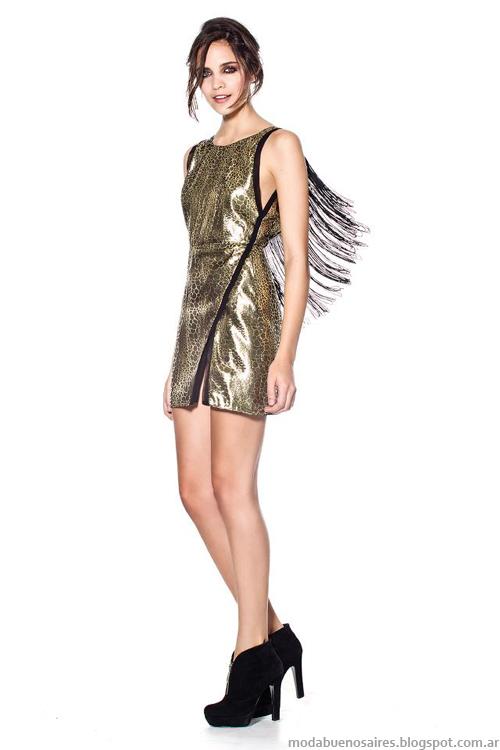 Maria Dahn invierno 2013 vestidos de fiesta
