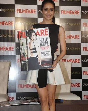 Shraddha Kapoor launched Filmfare Magazine cover