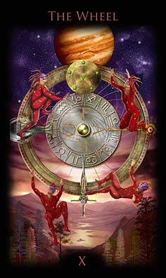 l'héritage du tarot divin traduction ? - Page 2 Wheel+%2528Roue+de+Fortune%2529