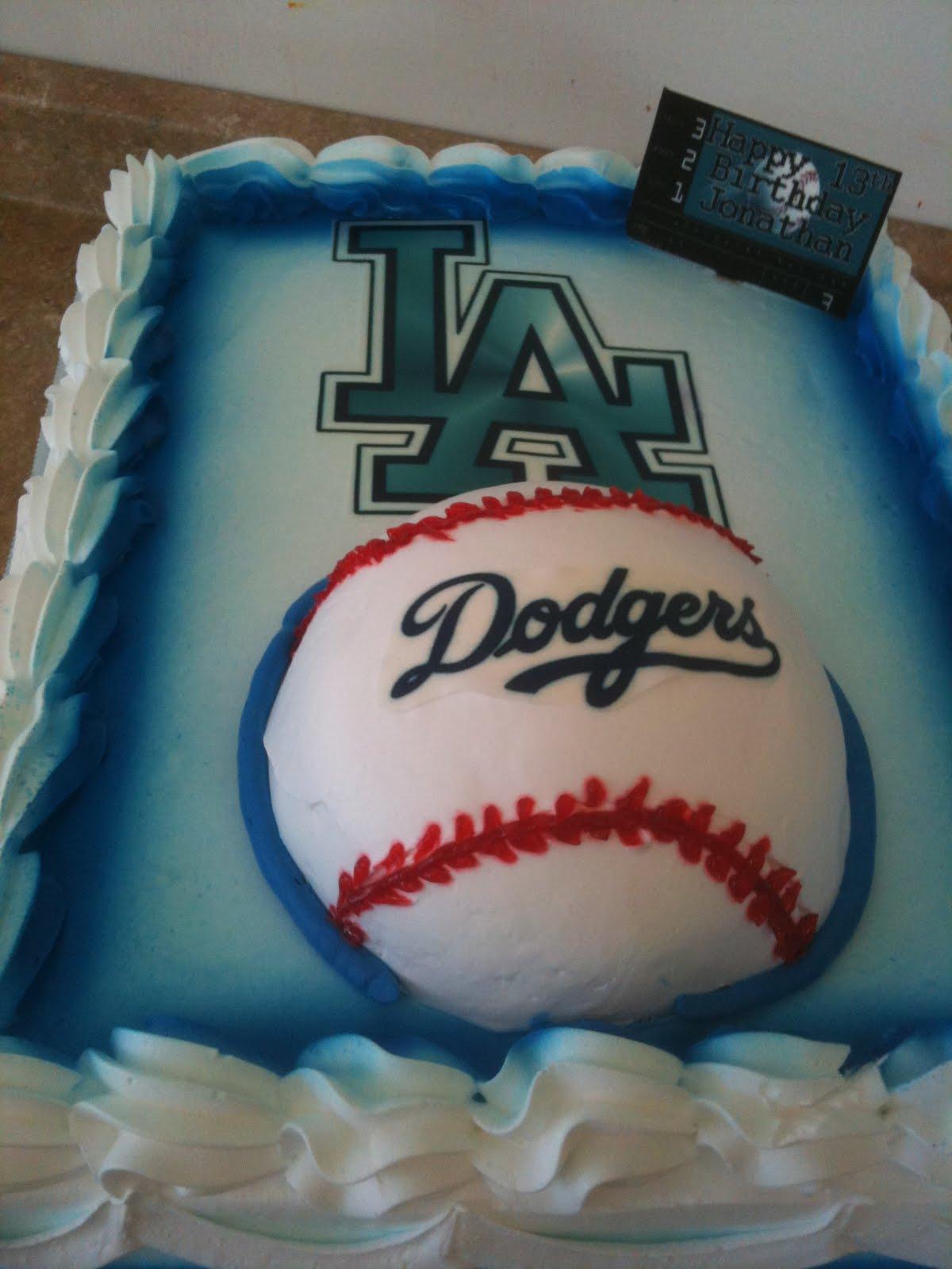 Pin Dodgers Baseball Aseball Stadium Cake on Pinterest