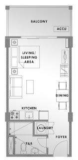 Kasa Luntian Tagaytay Studio Unit Plan
