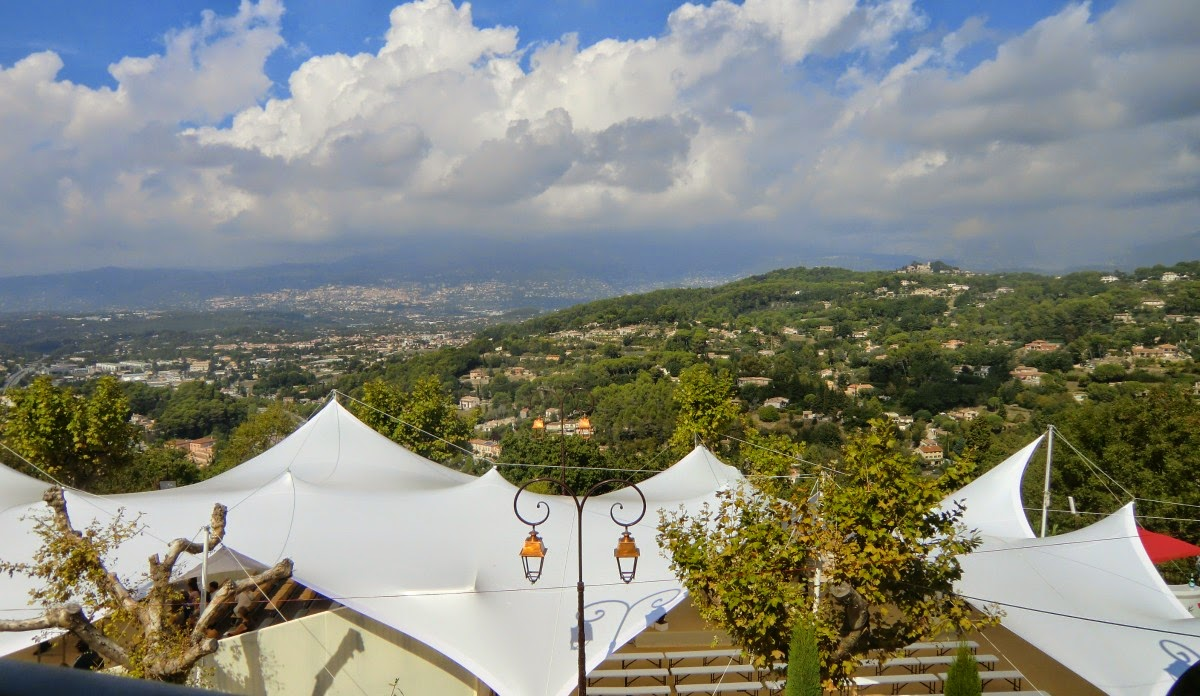 View from L'Amandier terrace