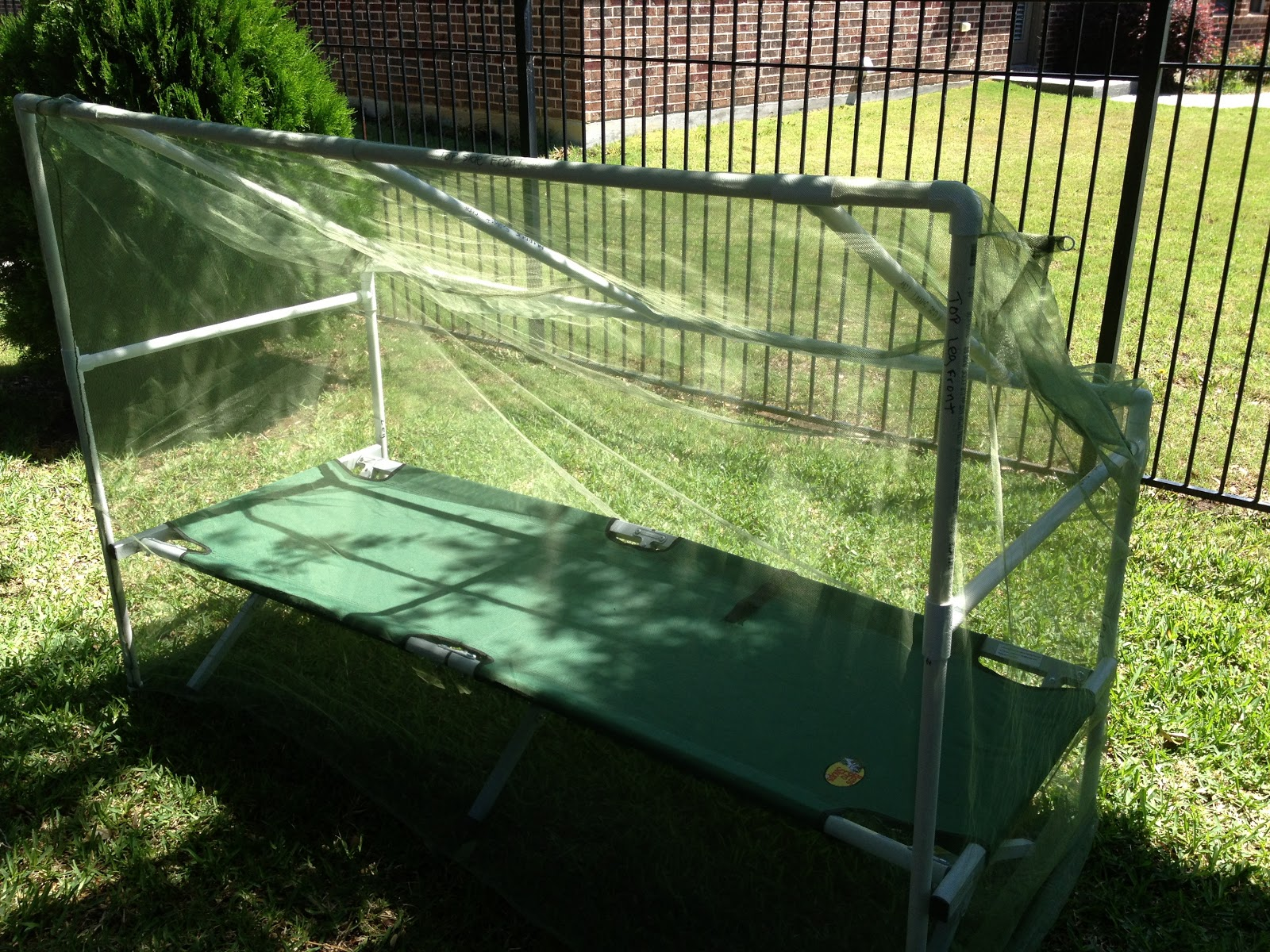 GR8Scouting: Mosquito Net PVC Frame