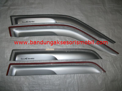 Talang Air Grand Civic 88-91 Silver Mugen Depan Belakang