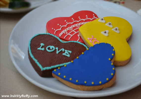 Seattle's Best Coffee: Heart-Shaped Cookies