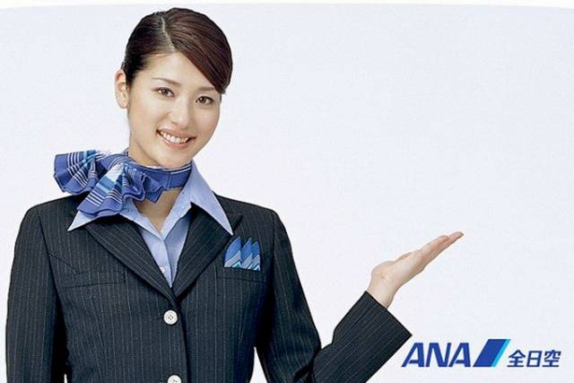 35Japan252CAllNipponAirwaysAirHostess - Air Hostess From Different Countries