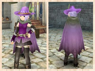 オールドマント 紫1染色