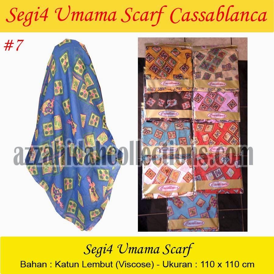 Segi Empat Umama Scarf Cassablanca - AzzahidahCollections.com
