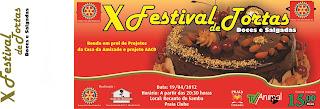 X Festival de Tortas