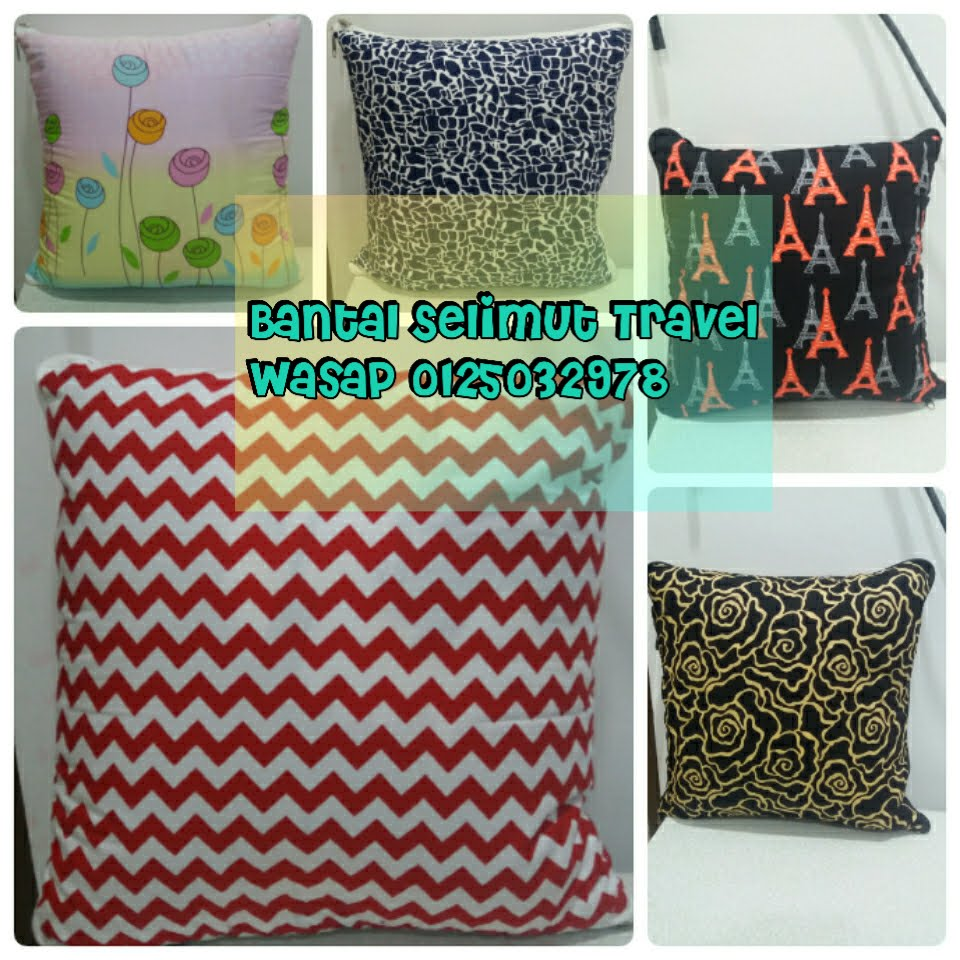 ☞ BANTAL SELIMUT TRAVEL