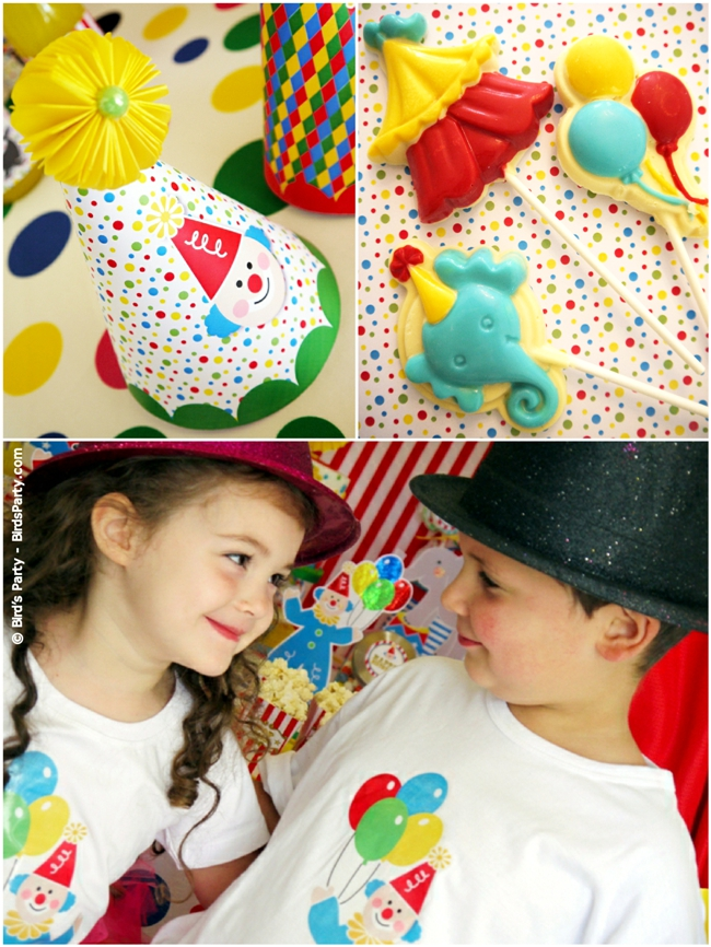 Big Top Circus Carnival Inspired Birthday Party Ideas and Printables FAVORS