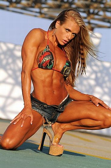 ... Canada had two entries so why not two Brazilian female fitness models