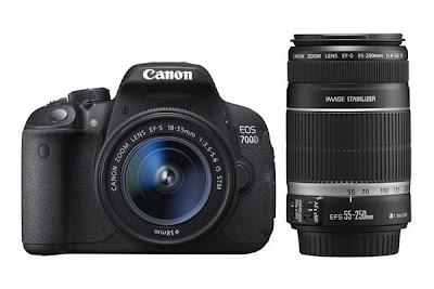 New Canon EOS 700D, Canon EOS 700D kit