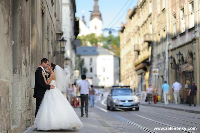 Весілля у Львові, фото Юри Зелененького, Україна