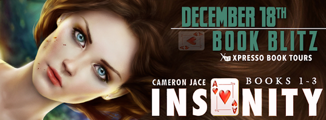 Book Blitz:  The Insanity Series by Cameron Jace