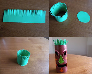 DIY Tea Light Tiki
